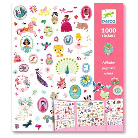 Stickers : 1000 stickers sweet