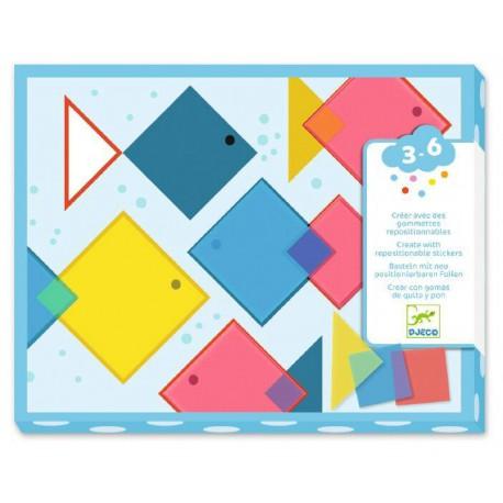 Collages : des carrés magiques