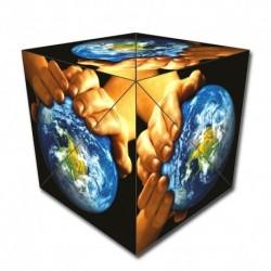 Geobender - Cube world magnétique