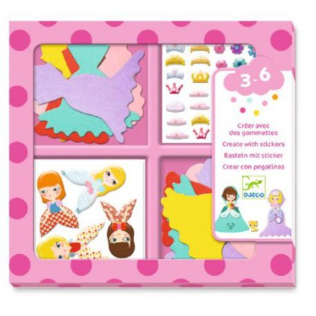 Stickers des petits : j'aime les princesses