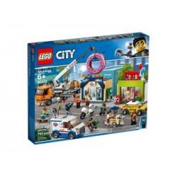 Lego - City : L'ouverture du magasin de donuts