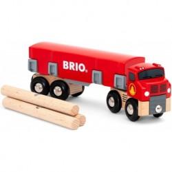 Brio - World : Camion de transport de bois