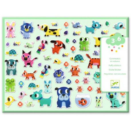 Stickers des petits : mes petits amis
