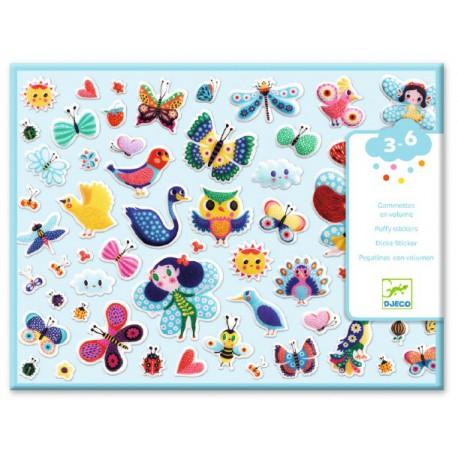 Stickers des petits : petites ailes