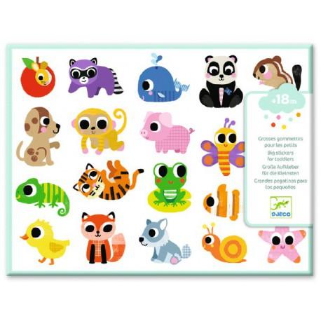 Stickers des petits : bébés animaux