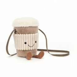 Jellycat - Peluche : Amuseable Coffee-to-go bag