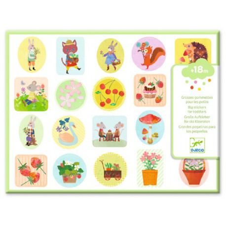 Stickers des petits : le jardin