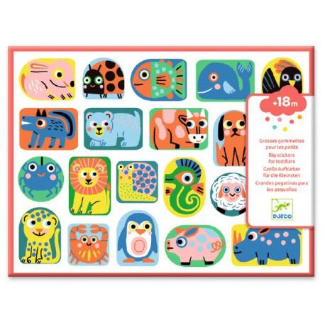 Stickers des petits : tous en forme