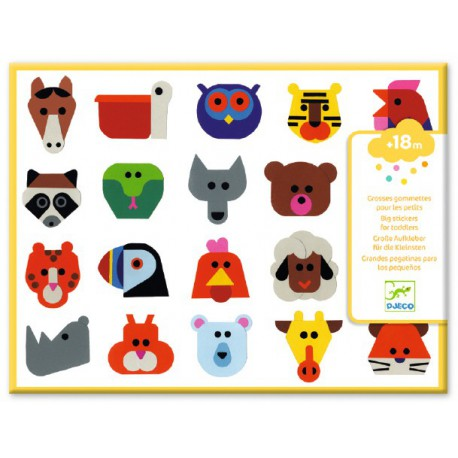 Stickers des petits : tête à tête