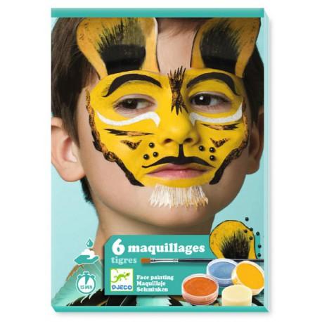 Coffret de maquillage : tigre