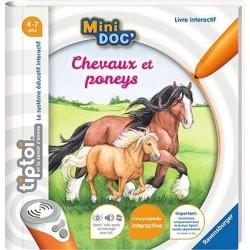 Ravensburger - TIPTOI : Mini Doc' Les Chevaux et poneys