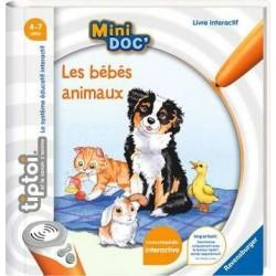 Ravensburger - TIPTOI : Livre Mini Doc' - Les bébés animaux