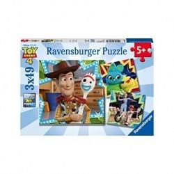 Ravensburger - Puzzle 3x49 pcs : Toy Story 4