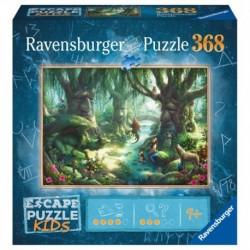 Ravensburger - Puzzle 368 pcs - Escape Kids : La Forêt Magique
