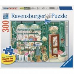 Ravensburger - Puzzle 300 pcs : La boutique de Fleurs