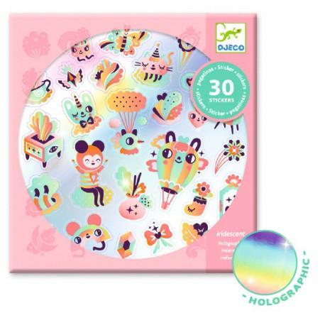 Stickers : lovely rainbow