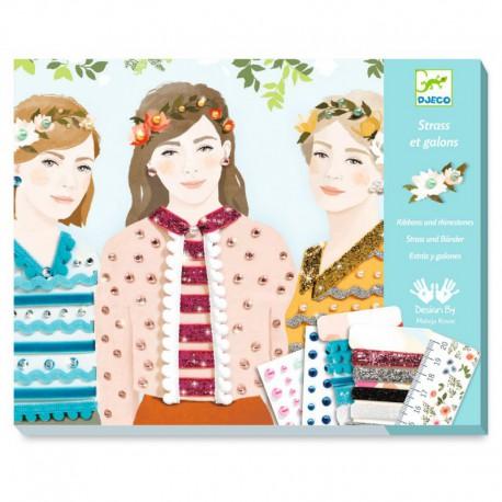 Papier créatif : filles des 4 saisons
