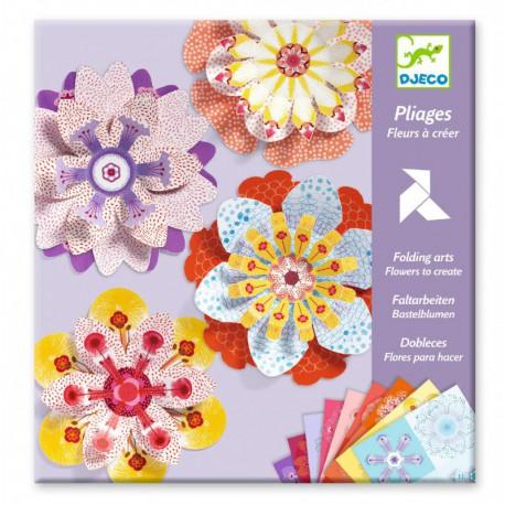 Pliages : fleurs à créer