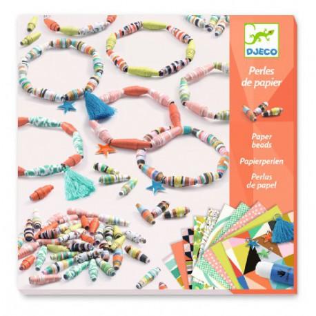 Papier créatif : bracelets de printemps