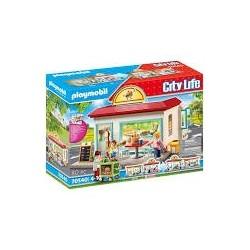 Playmobil - City Life : Restaurant de Hamburgers