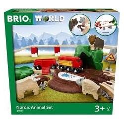 Brio - Forest animal set