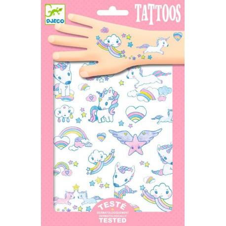 Tatouages : licornes
