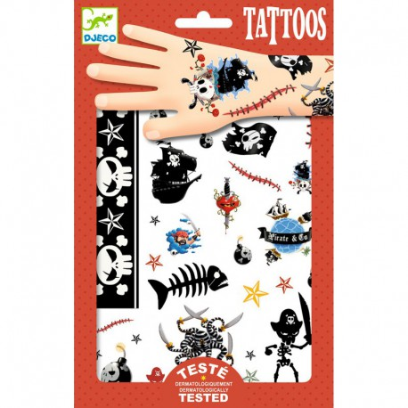 Tatouages : pirates