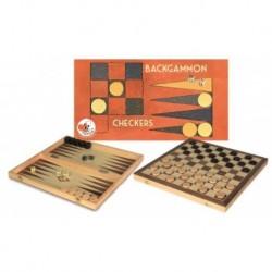 Jeu de dames et Backgammon