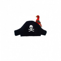 Best Saller - Chapeau de pirate avec perroquet