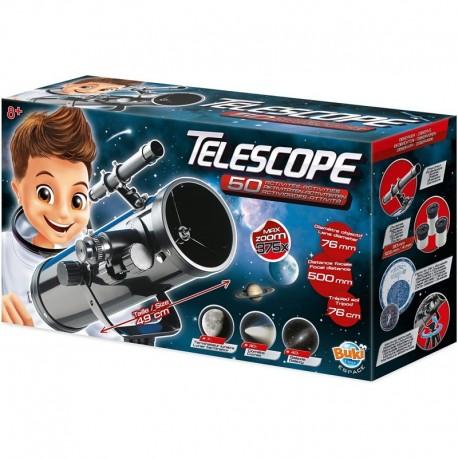 Buki - Grand téléscope 50 activités