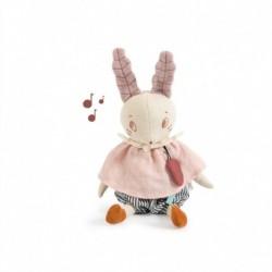 Moulin Roty - Poupée musique lapin : Après la pluie