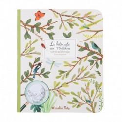 Cahier de stickers le botaniste