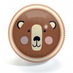 Djeco - Ballons : Bear & Fox - 22 cmdiamètre