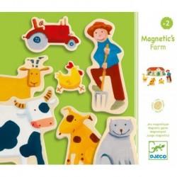 Djeco - Magnétiques bois : Ferme