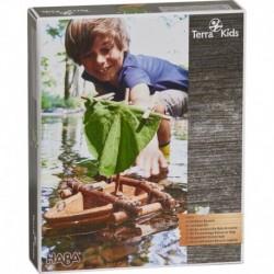 Haba - Terra Kids - Kit d'assemblage : Bateau en liège
