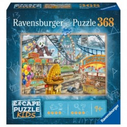 Ravensburger - Puzzle Escape Kids : Le parc d'attractions