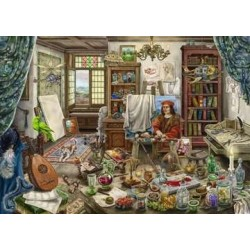 Ravensburger - Puzzle Escape : Da Vinci artiste Workshop