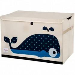 3Sprouts - Coffre à jouets : Baleine