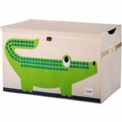 3Sprouts - Coffre à jouets : Crocodile