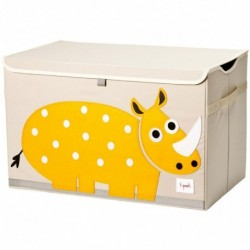 3Sprouts - Coffre à jouets : Rhino