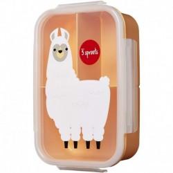 3Sprouts - Boîte à déjeuner : Lama