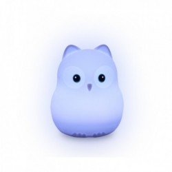 Lights4Kids - Veilleuse Silicone USB : Chouette