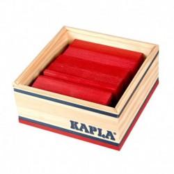 Kapla - Couleur par 40 Rouge