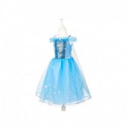 Souza - Princesse des neiges robe 5-7 ans
