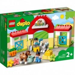 Lego - L'écurie et les poneys