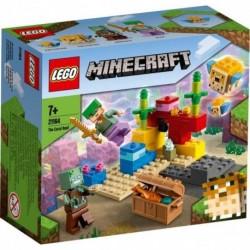Lego - Minecraft : Le récif corallien