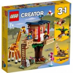 Lego - La cabane dans l'arbre du safari