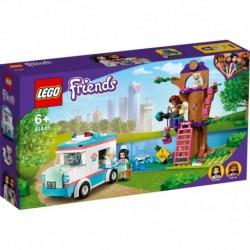 Lego - L'ambulance de la clinique vétérinaire