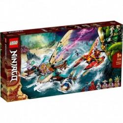 Lego - La bataille de catamarans