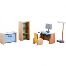 Haba - Little Friends : Meubles de bureau pour maison de poupée